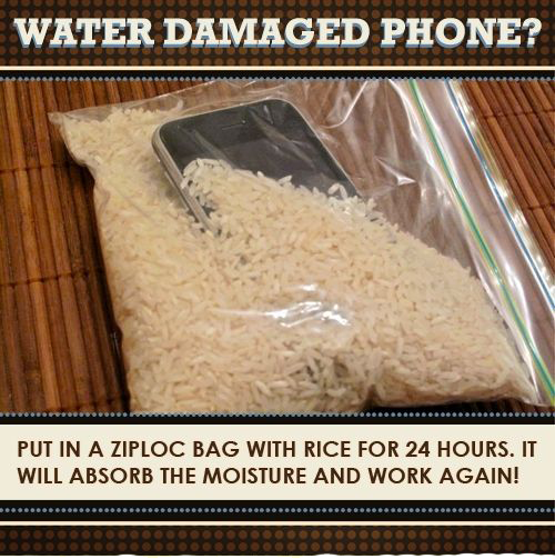 putting iphone in rice rice for a water damaged iphone dannstarr electronics 15920